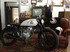 Honda CG125 #Bratstyle