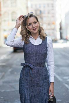 herringbone dress fashion blog mary orton