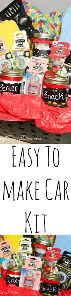 DIY – Easy To Make Car Kit  #LoveAmericanHome  #ad