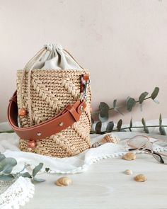 Leather Purses, Leather Handbags, Crochet Handbags, Crochet Bags, Bucket Handbags, Macrame Bag, Linen Bag, Knitted Bags, Handmade Bags