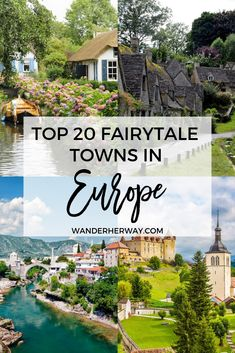 Prettiest towns in Europe to add to your bucket list - these towns look like they're straight out of a fairytale! #europe #travel