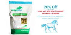 Hoof and Skin Health Equine Balancer - Summer Supplement Horse Supplies