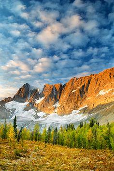 Tumbling Pass, the Rockwall Trail, Kootenay National Park