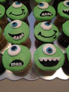 """Mike"" cupcakes. Buttercream!"