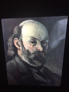 "Paul Cezanne ""Self Portrait 1880"" French Post-impressionism 35mm Art Slide  