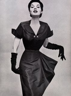 Vintage Vogue - Radiant Fashions ad from 1951