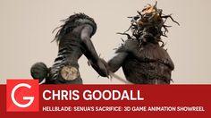 Chris Goodall - Hellblade: Senua's Sacrifice: 3D Game Animation Showreel