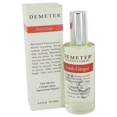 Demeter Fresh Ginger Cologne Spray By Demeter