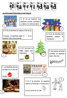 Spanish For Adults Teachers Printing Videos Vase Key: 9702885753 Spanish Christmas, Spanish Holidays, Christmas Fun, Spanish Teacher, Spanish Classroom, Teaching Spanish, Learning Sight Words, Spanish Immersion, Elementary Spanish