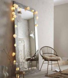 Miroir et lumières