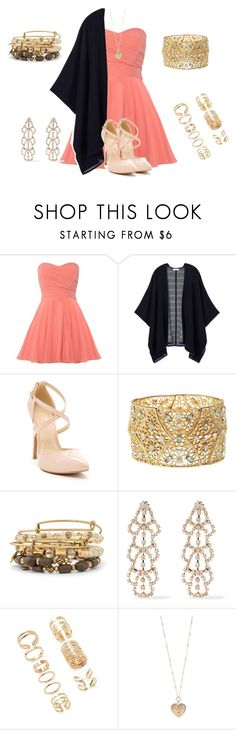 """""""Simple yet stylish"""" by purplegirl74 ❤ liked on Polyvore featuring TFNC, Tory Burch, Charlotte Russe, Alex and Ani, Kenneth Jay Lane, Forever 21, Betsey Johnson and country"""