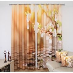 Jarný záves - kvety Candles, Curtains, Table Decorations, Furniture, Home Decor, Style, Swag, Blinds, Decoration Home
