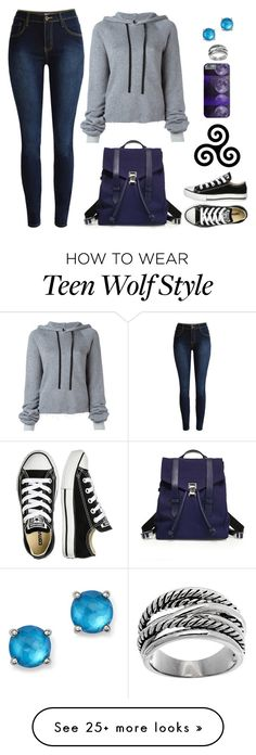 """Teen Wolf Inspired"" by lucy-wolf on Polyvore featuring Unravel, Converse, Proenza Schouler, Ippolita and Lord & Taylor"