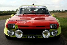 Fiat x19 Abarth from the front