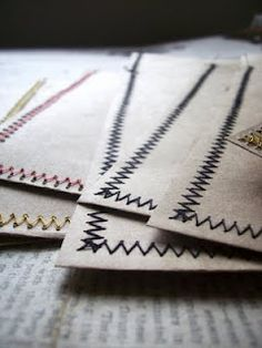 sewing paper crafts
