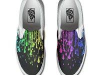 Scarpe Vans personalizzate (Prodotto Artigianale) trendy - TG38,5