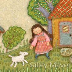 Close-ups (sheep)   SALLEY MAVOR