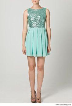 Blue Coctail Dress