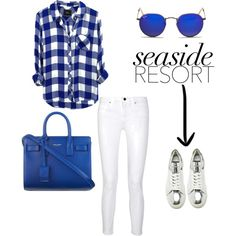Time is on my side ! by invisible9988 on Polyvore featuring polyvore fashion style Rails dVb Victoria Beckham Yves Saint Laurent Ray-Ban polyvoreeditorial PolyvoreWishlist yoinscollection justlivedesign