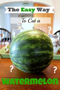 Are you befuddled by how to tackle the job of cutting up this giant fruit? Help is on the way!