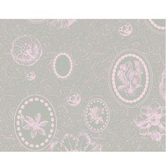 Set de table Tea time Garnier-Thiebaut - Modèle : Mille éclats - Set de table en coton - Coloris : rose