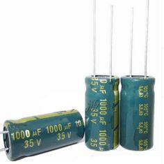 35V 1000UF 1000UF 35V 1000uf35v 35v1000uf  power supply special high-frequency crystal 500pcs/pack Size:10*20 #Affiliate