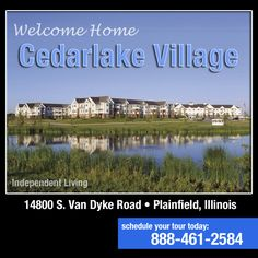 "Cedarlake Village invites you to experience a senior living rental community where neighbors are family and the atmosphere echoes ""Welcome Home.""  Spacious apartments, delicious dining and heated underground parking all await you at this pet friendly community. Call for more info."