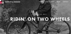 Blog shout out to all our cyclist homies out there this week. Mobilize in the saddle this week: https://mobilityondemand.squarespace.com/blog/2015/10/21/ridin-on-two-wheels