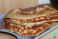 Receta de Panqueques sin leche - ¡Listas en 5 minutos! . #RecetasGratis #Recetas #RecetasFáciles #Desayuno #Breakfast #panqueca #pancakes
