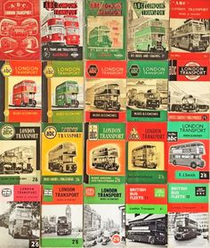 Leftover London / The joy of buses
