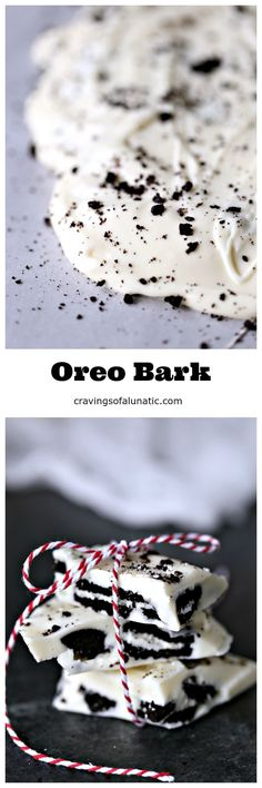 Oreo Bark uses only two ingredients and is incredibly quick and easy to make. I highly suggest double-batching this one. People go crazy for it!