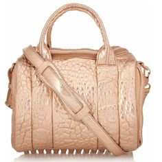 a2ac9bea6371 SOLD Alexander Wang Rockie Metallic Tote NWT. Leather Shoulder BagShoulder  ...