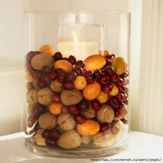 Nice Fall Mix to Decorate Candles
