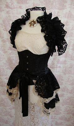 Gotische Spitze treiben Rock Burleske Victoriana von  OpheliasFolly  Gothic                                                                                                                                                                                 Mehr