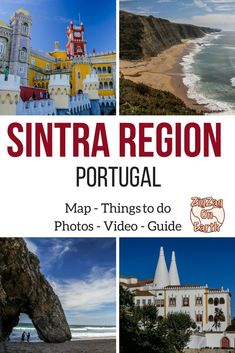 Only 30min away from Lisbon, the Sintra region and the Sintra Cascais Natural park have a lot to offer: impressive cliffs, stunning beaches, windmills, Unesco heritage sites, unique buildings and magnificent parks… Portugal Travel Guide   Sintra Portugal Travel #portugaltravel