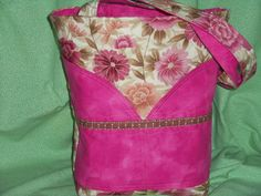 Hey, I found this really awesome Etsy listing at https://www.etsy.com/listing/220853391/tote-bag-purse-floral-fantasy-quilted