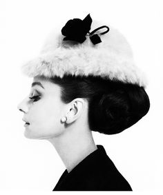 Audrey Hepburn photographed by Cecil Beaton for Givenchy