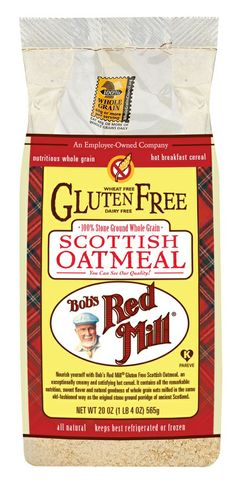 Bob's Red Mill Natural Foods :: NEW...Gluten Free Scottish Oatmeal