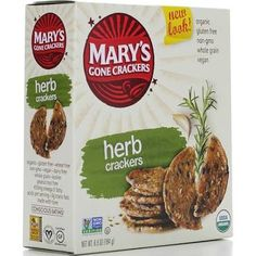 Mary's Gone Crackers Organic Crackers