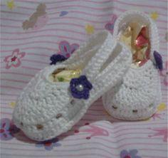 Baby Croc de crochê | Art irmãs ateliê | 1DED8B - Elo7