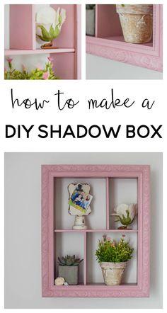 diy shadowbox | diy