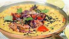 Dhal på røde linser Veggie Recipes, Soup Recipes, Whole Food Recipes, Healthy Recipes, Veggie Food, Vegetarian Dinners, Vegan Vegetarian, Always Hungry, Garam Masala