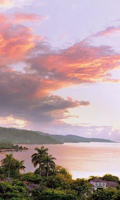 Caribbean Sunset: Jamaica  Can't wait to go again! How soon is too soon for a second honeymoon?!?