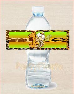 Bam Bam Digital Water Label - Go Party Fiesta