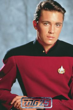 star trek tng | Star Trek: The Next Generation, Wesley Crusher Premium Poster