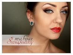 Not in English but still a great tutorial. ▶ **Makeup Tutorial** - makijaż świąteczny - YouTube