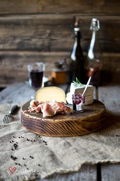 Love this simple cheese board ... #Wine #WineMaking #Cheese #CheesMaking #Tasting #Recipe