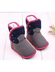 Zapatos de bebé - Botas - Exterior / Vestido / Casual - Tejido - Rosa / Gris
