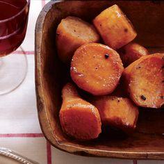 Maple-Baked Sweet Potatoes