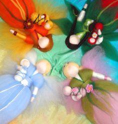 Roving fairies for each season